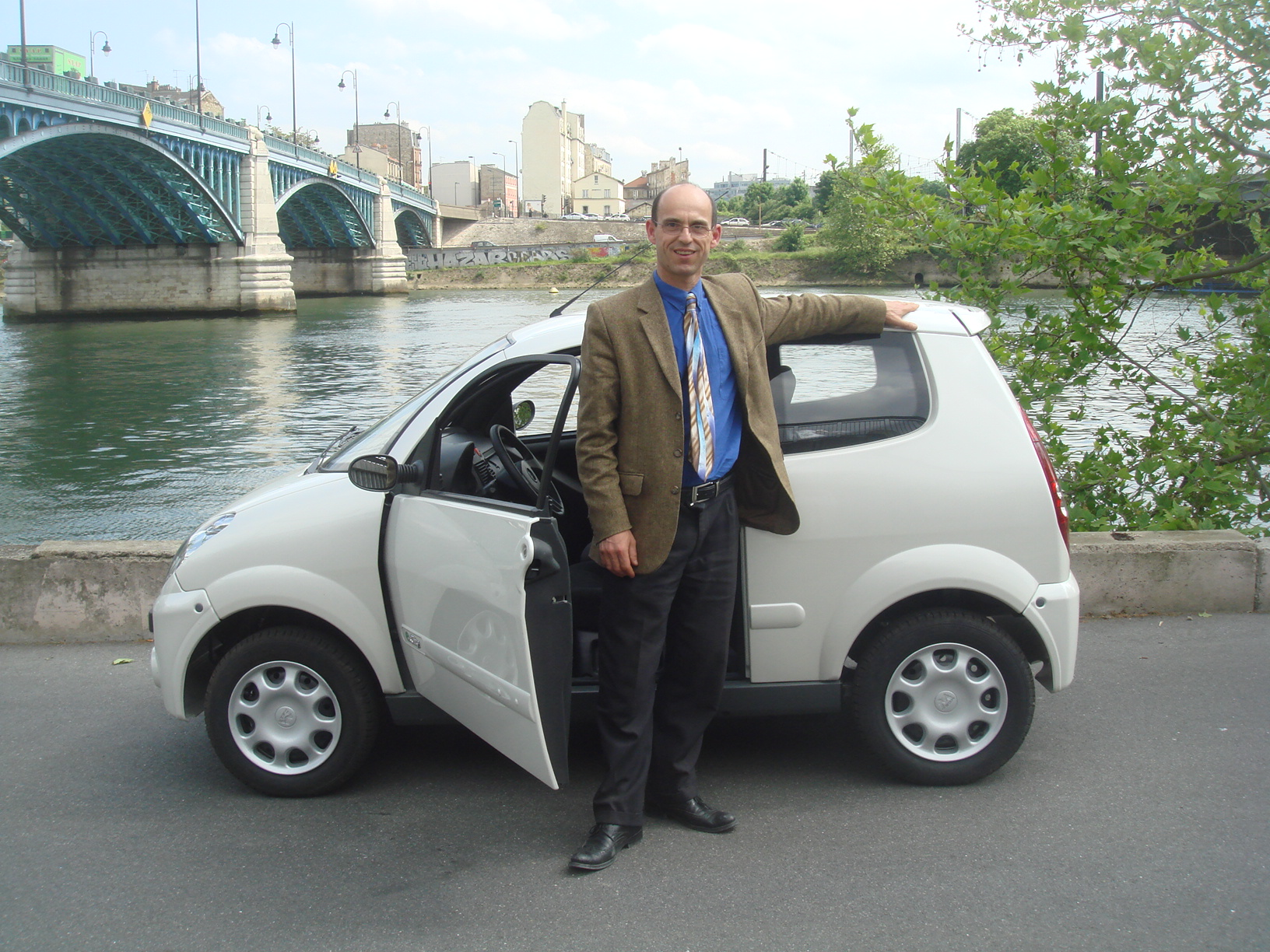 The first electric car to be